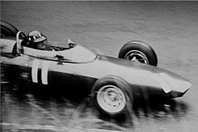 Graham Hill ne german grand prix 1962